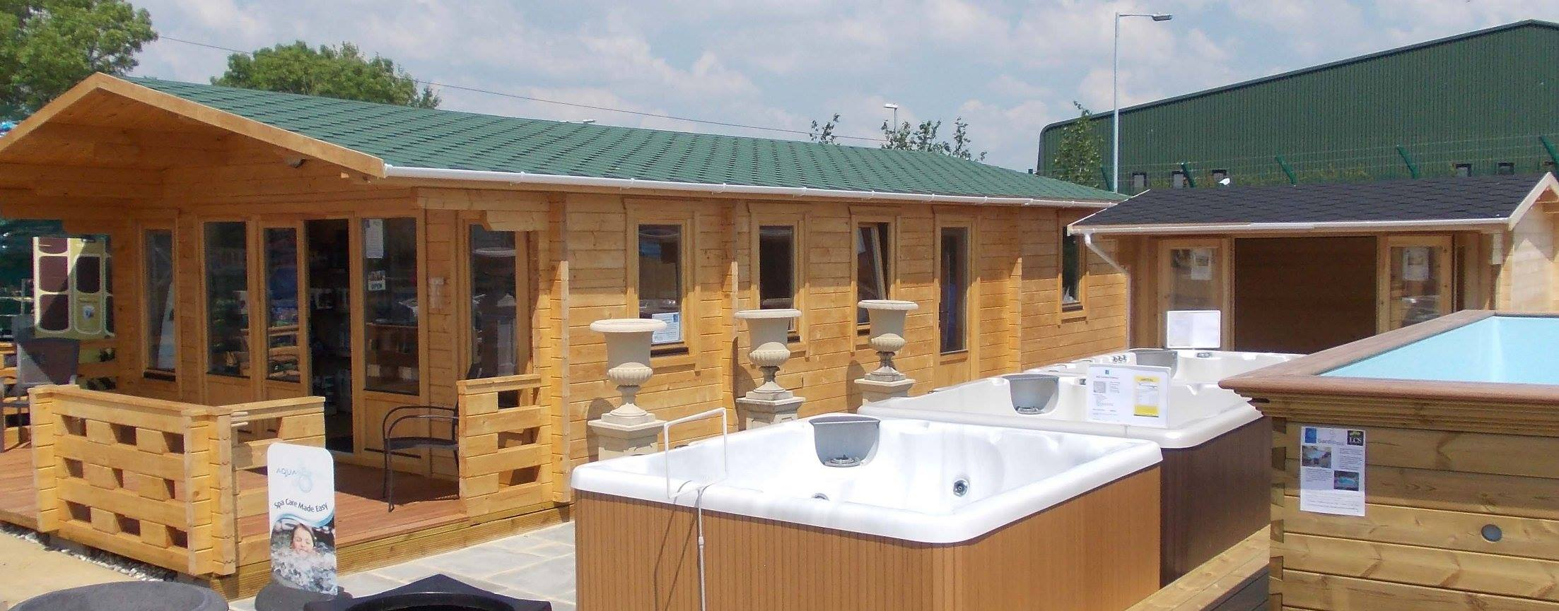 Inspired Cabins Log Cabin Showroom